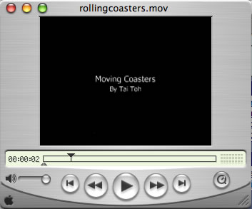 This is an image of the Moving Coasters Movie